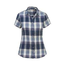 Women's Woolrich Eco Rich Carabelle Shirt Deep Indigo
