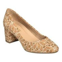 Women's Aerosoles Silver Star Pump Printed Faux Cork