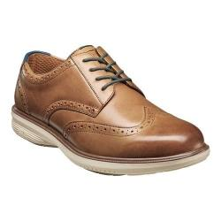 Men's Nunn Bush Maclin Street Wing Tip Oxford Camel Multi Leather