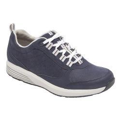 Women's Rockport TruStride Walking Sneaker Navy Nubuck