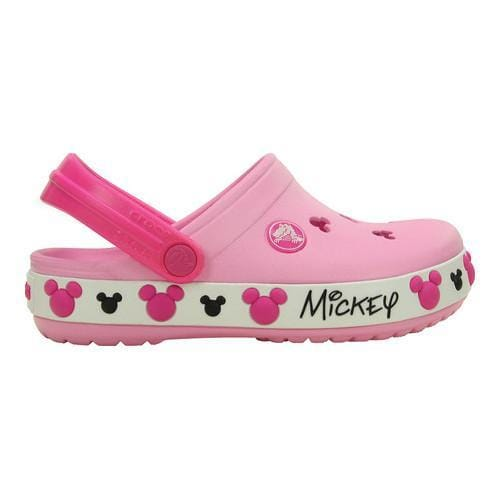 0c070d26b463 Shop Children s Crocs Crocband Mickey IV Clog Kids Carnation - Free  Shipping On Orders Over  45 - Overstock - 20045297