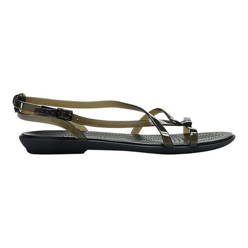 a4f6377fe0a Shop Women s Crocs Isabella Gladiator Sandal Black Black - Free Shipping On  Orders Over  45 - Overstock - 20045306