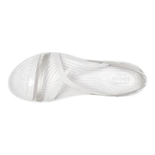 28a11b4cb380 ... Thumbnail Women  x27 s Crocs Isabella Strappy Sandal Oyster Pearl White