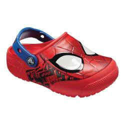 Boys' Crocs Fun Lab Spiderman Lights Clog Kids Flame