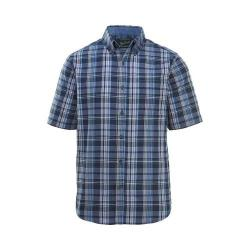 Men's Woolrich Eco Rich Timberline Short Sleeve Shirt Deep Indigo Classic Fit (4 options available)