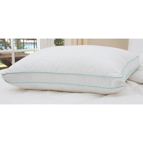 shop cozy clouds bounce back gusseted pillow white on. Black Bedroom Furniture Sets. Home Design Ideas