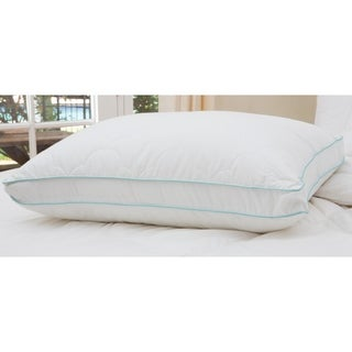 Cozy Clouds Bounce Back Gusseted Pillow - White