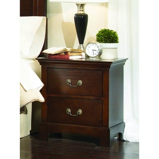 Copper Grove Campanula Brown Nightstand