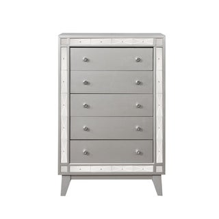 Silver Orchid Barriscale Contemporary 5-drawer Chest