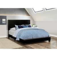 Porch & Den Manes Faux Leather Upholstered Bed