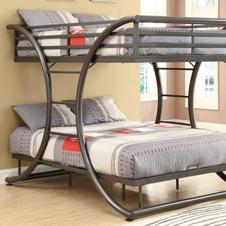Taylor & Olive Chicot Full-over-full Metal Bunk Bed