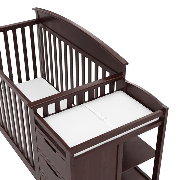 Shop Graco Benton 4 In 1 Convertible Crib And Changer