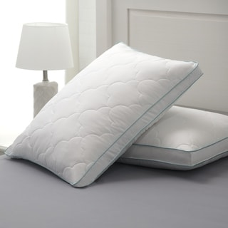 Link to Cozy Classics Bounce Back Gusseted Pillow (Set of 2) - White Similar Items in Pillows