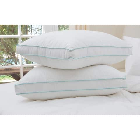 Cozy Clouds Bounce Back Gusseted Pillow (Set of 2) - White