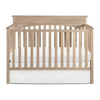 Graco Lauren 4-in-1 Convertible Crib - Converts to Toddler Bed, Daybed, and Full-Size Bed, 3 Adjustable Mattress Heights