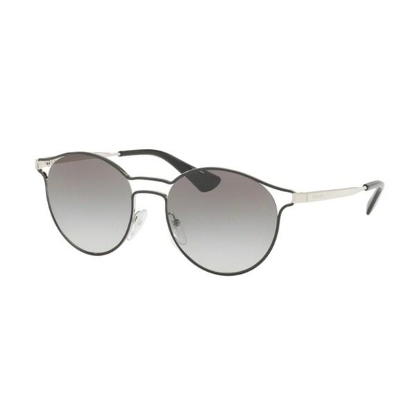 e54c498e7957f Shop Prada Cinema PR62SS Women Black Grey Gradient Sunglasses - Free  Shipping Today - Overstock - 23600899