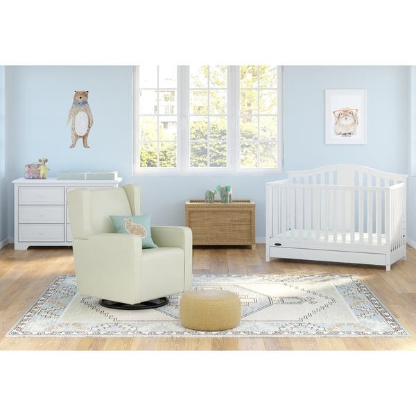 Shop Graco Solano 4-in-1 Convertible Crib with Drawer ...