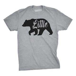 Toddler Little Bear Cute Gift for Children Adorable Family T shirt