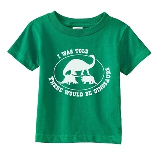 Toddler I Was Told There Would Be Dinosaurs Tshirt Jurassic Tee