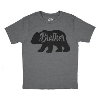 Toddler Brother Bear Tshirt Cute Funny Family Tee For Little Brother