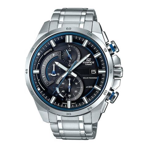 Casio Men's EQS600D-1A2 'Edifice' Chronograph Stainless Steel Watch
