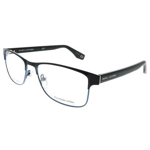 Marc Jacobs Rectangle Marc 343 PJP Unisex Blue Frame Eyeglasses