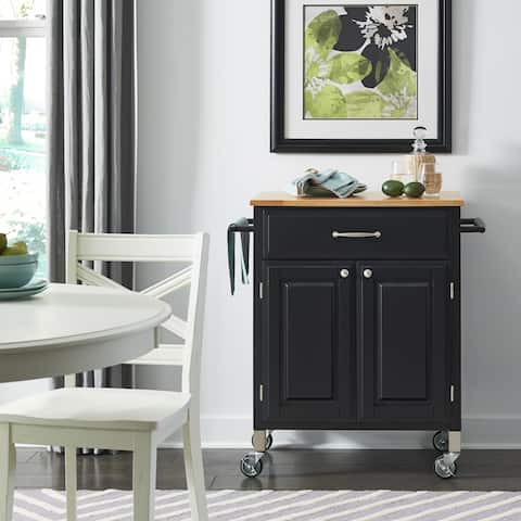Black Dolly Madison Pre and Serve Cart
