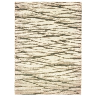 """Porch & Den Windemere Layers Ivory/ Sand Area Rug - 9'10"""" x 12'10"""""""