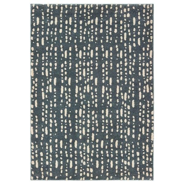 "Dappled Light Blue/ Ivory Area Rug - 7'10"" x 10'"