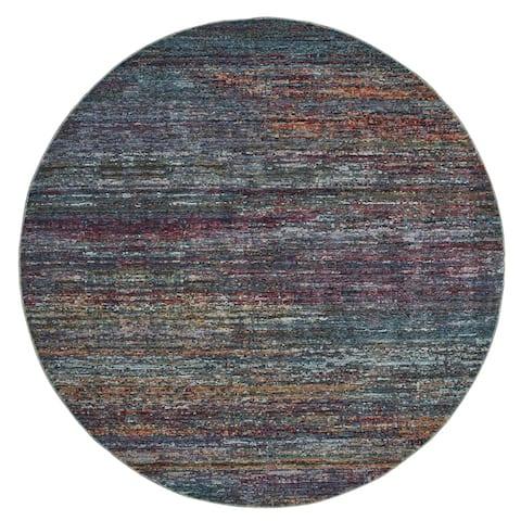 Carson Carrington Halden Textural Stripes Area Rug