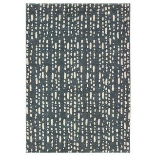 "Carbon Loft Dulaney Dappled Light Blue and Ivory Area Rug - 6'7"" x 9'2"""