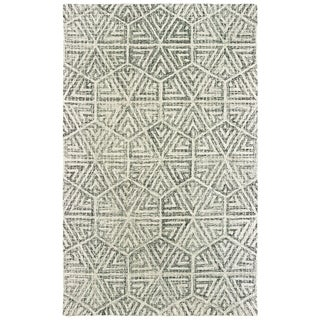 Silver Orchid Brooks Wool Grey/ Ivory Area Rug - 10' x 13'