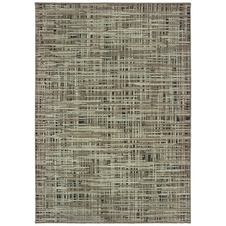 """Carbon Loft Cantwell Grey and Green Area Rug - 6'7"""" x 9'6"""""""