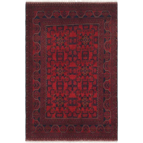 Hand Knotted Khal Mohammadi Wool Square Rug - 6' 5 x 6' 7