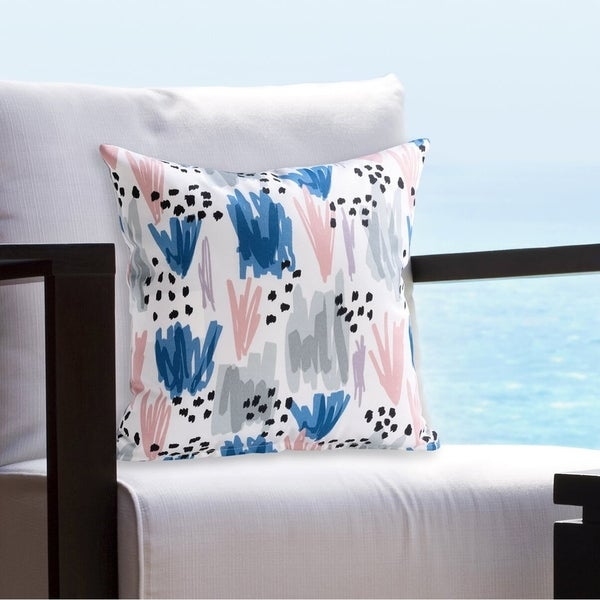 Siscovers Ocean Prime Blush Indoor - Outdoor Throw Pillow