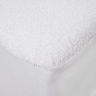 Premium Cotton Terry Waterproof Fitted Mattress Cover