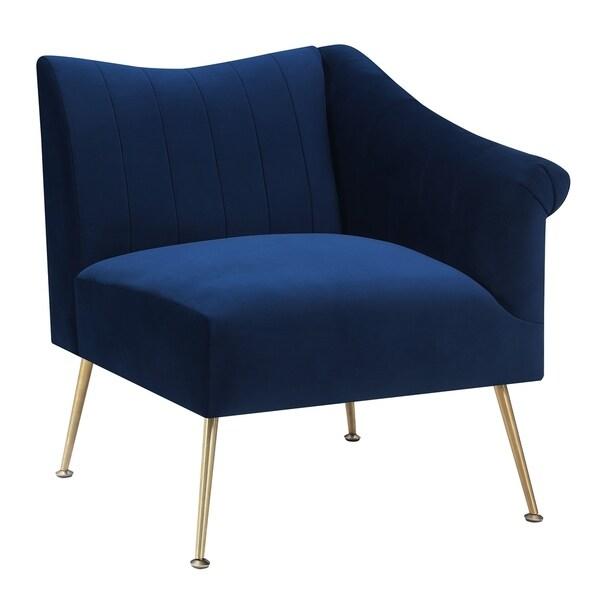 Corner Accent Chairs: Shop Picket House Furnishings Jillian Cushioned Corner