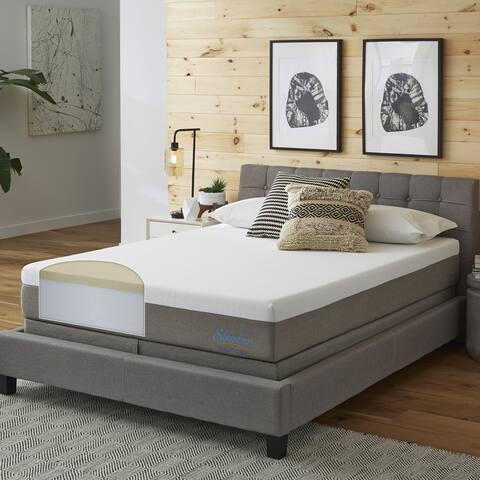 Slumber Solutions Essentials 10-inch Memory Foam Mattress Set