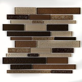 Link to Crystal Shores Random Mosaic Copper Coast - 14.25 x 11.75 Similar Items in Tile