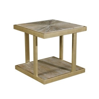 Arnaude Two-Tiered End Table