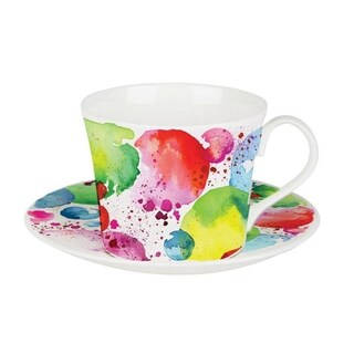 Roy Kirkham Breakfast Cups & Saucers - The Planets (Set of 2)