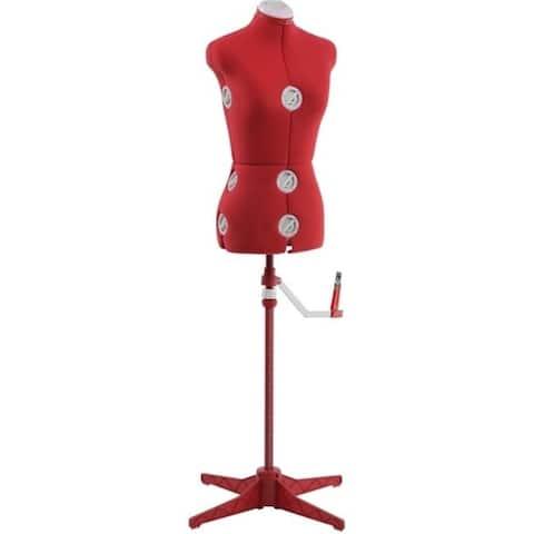 Singer Small-Medium Dress Form, Red