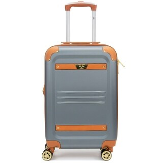 "V1969 Italia Vintage 20"" Expandable Hardside Spinner Luggage, TSA Lock"