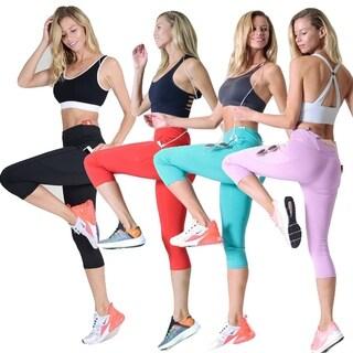 Side Pocket Performance Capri Leggings