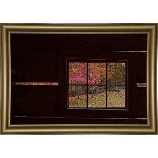 "Roaring Fork Cabin Window- Print 12""x18"" by Galloimages Online"