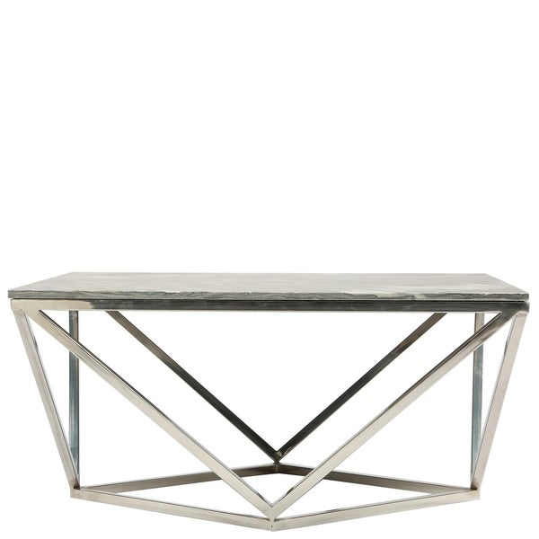 shop luna square coffee table base only free shipping today overstock 23611534. Black Bedroom Furniture Sets. Home Design Ideas