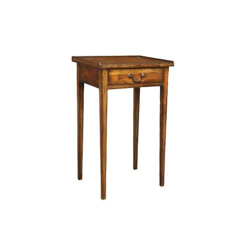 Irvine Burnished Honey Martini Table