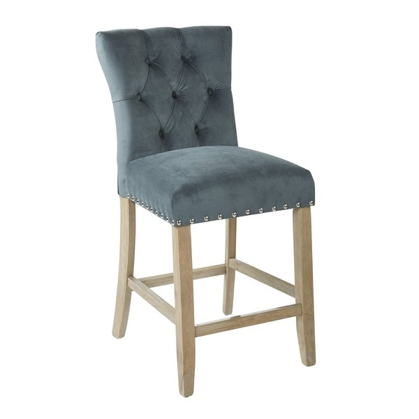 """Bassett Furniture Milford Ct: Shop INSPIRED By Bassett Preston 24"""" Counter Stool With"""