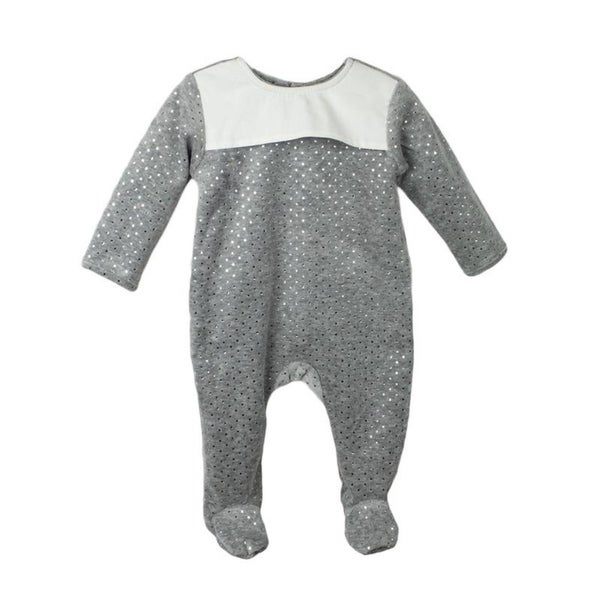 Baby Clothes Sleep N Play Footie Coverall Romper Boy Girl Unisex Long Sleeve