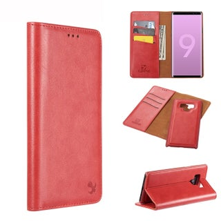 Samsung Galaxy Note 9 Luxury Magnetic Flip Leather Wallet Case